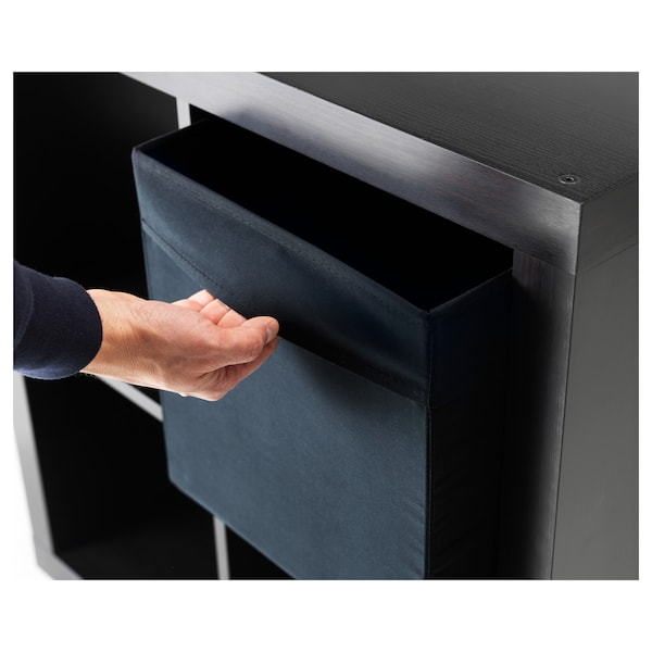 DRÖNA Pudełko, czarny, 33x38x33 cm