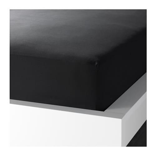 dvala prze cierad o z gumk 90x200 cm ikea. Black Bedroom Furniture Sets. Home Design Ideas