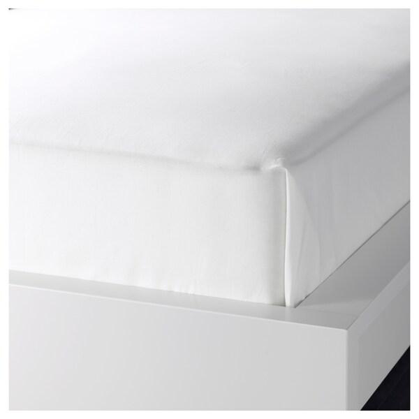DVALA Prześcieradło, biały, 240x260 cm