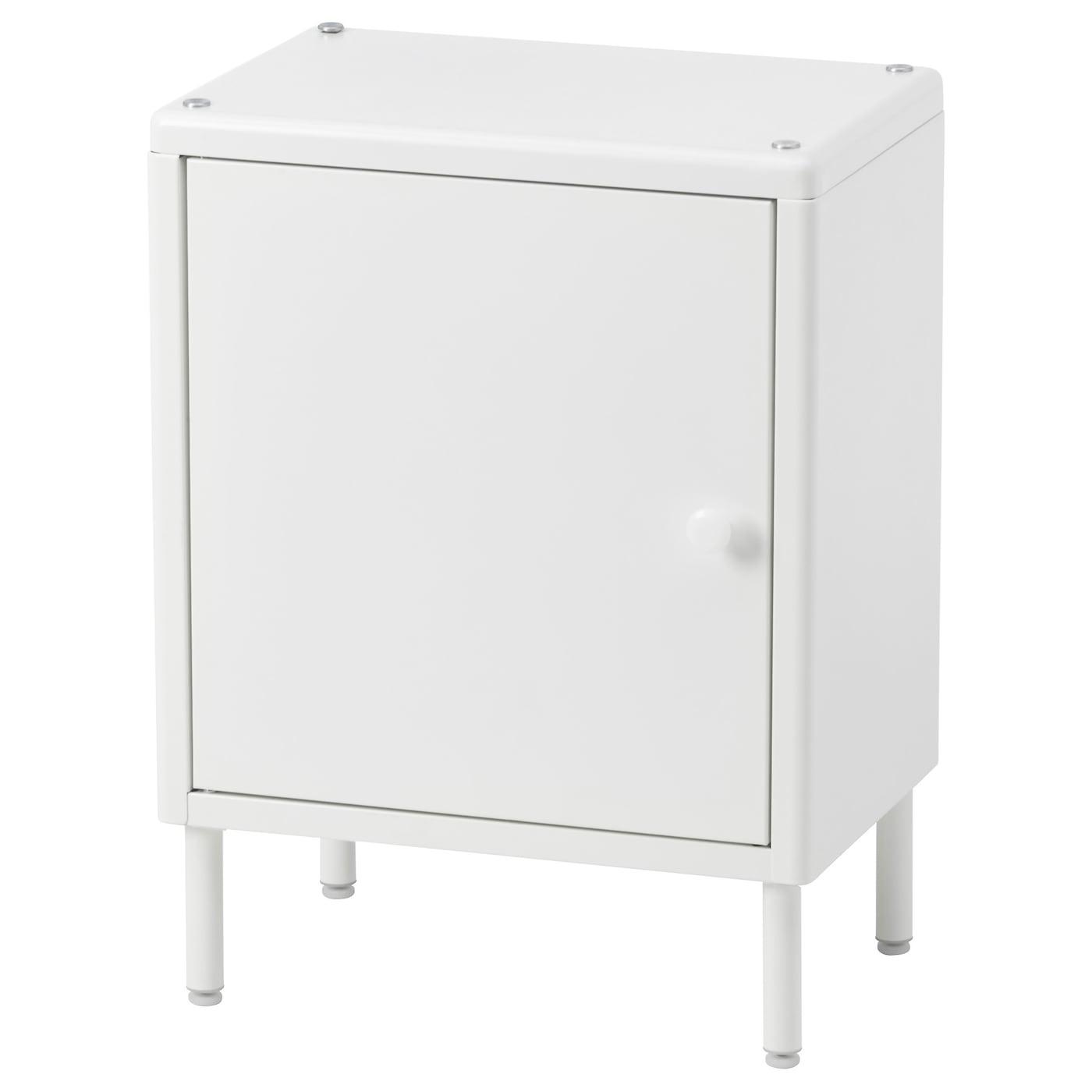 IKEA DYNAN biała szafka z drzwiami, 40x27x54 cm