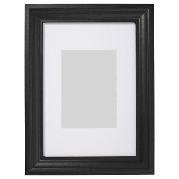 EDSBRUK Ramka, bejcowane na czarno, 21x30 cm