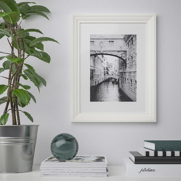 EDSBRUK Ramka, biały, 30x40 cm