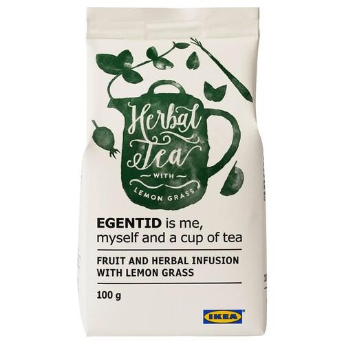 EGENTID napar owocowy i ziołowy trawa cytrynowa/certyfikat UTZ 100 g