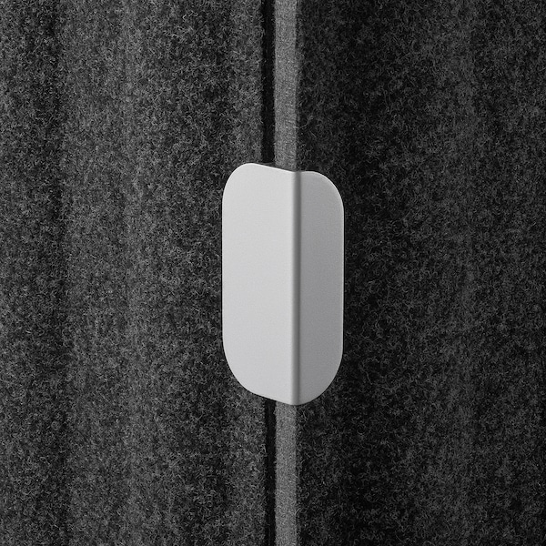 EILIF Ścianka do biurka ciemnoszary 48 cm 80 cm