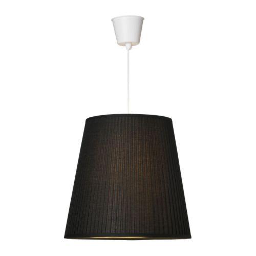 EKÅS Klosz IKEA Dzięki regulowanemu mocowaniu, pasuje do podstaw lamp i oprawek z kablami, zarówno z dużymi, jak i małymi żarówkami.