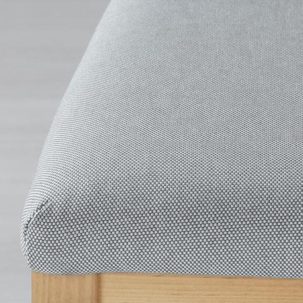 EKEDALEN krzesło brzoza/Orrsta jasnoszary 110 kg 45 cm 51 cm 95 cm 45 cm 39 cm 48 cm