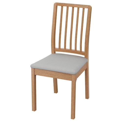 EKEDALEN krzesło dąb/Orrsta jasnoszary 110 kg 45 cm 51 cm 95 cm 45 cm 39 cm 48 cm