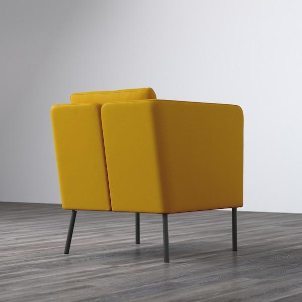 EKERÖ Fotel, Skiftebo żółty