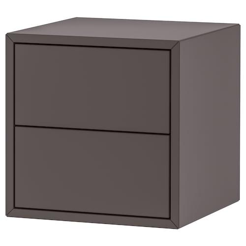 EKET szafka/2 szuflady ciemnoszary 35 cm 35 cm 35 cm 26 cm 27 cm 1.50 kg