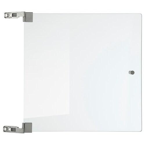 EKET drzwi szklane szkło bezbarwne 32 cm 32 cm