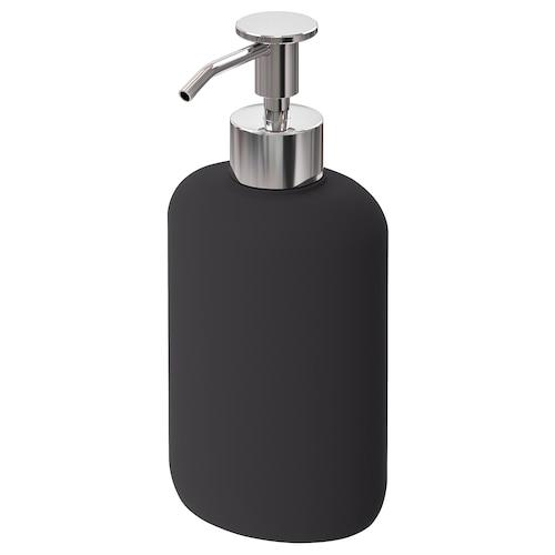 EKOLN dozownik mydła ciemnoszary 18 cm 300 ml