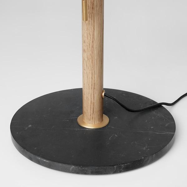 EVEDAL lampa stołowa marmur/szary 13 Wat 600 lm 34 cm 52 cm 28 cm 2.0 m 13 Wat