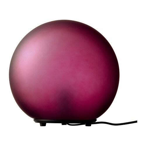 FADO Lampa stołowa , czerwony winny Średnica: 24.5 cm Wysokość: 23.5 cm Długość kabla: 185 cm