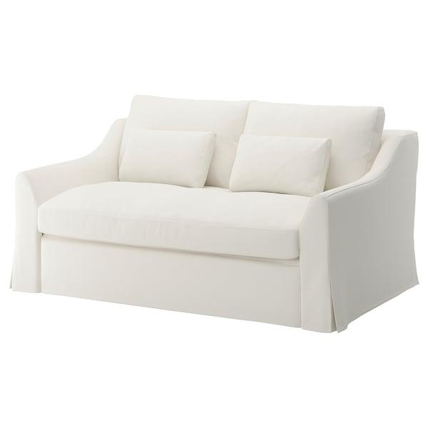 FÄRLÖV Sofa 2-osobowa rozkładana, Flodafors biały