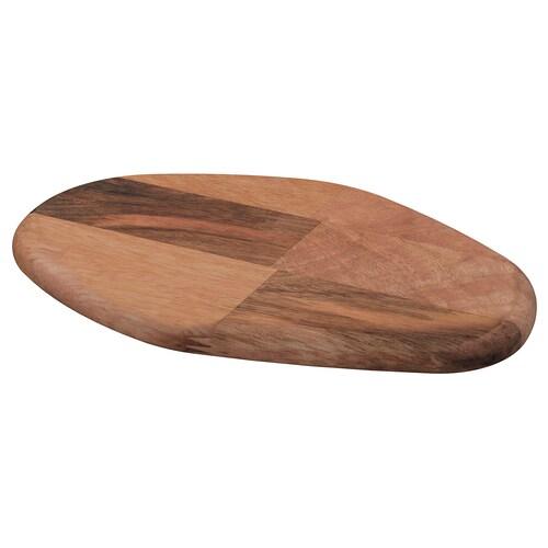 FASCINERA deska do krojenia drewno mango 28 cm 19 cm 1.8 cm