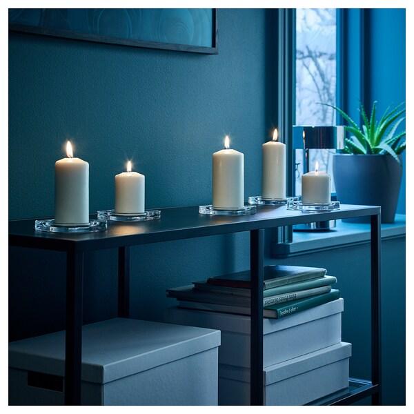 IKEA FENOMEN Bezzapachowa świeca brył., 5 szt.