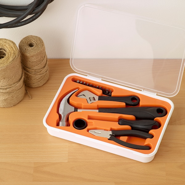 IKEA FIXA Komplet narzędzi, 17 szt.