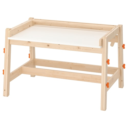 FLISAT biurko dla dziecka regulowane 92 cm 67 cm 53 cm 72 cm