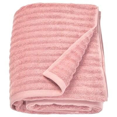 FLODALEN Ręcznik kąpielowy, jasnoróżowy, 100x150 cm