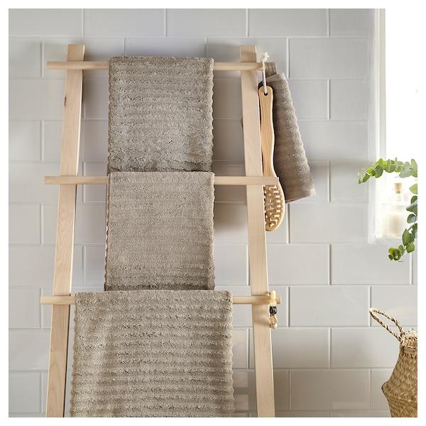 FLODALEN ręcznik beżowy 30 cm 30 cm 0.09 m² 700 g/m²