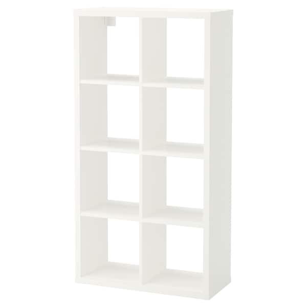 FLYSTA Regał, biały, 69x132 cm