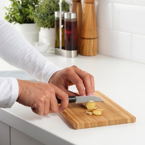 FÖRDUBBLA Komplet noży, 2 szt., szary