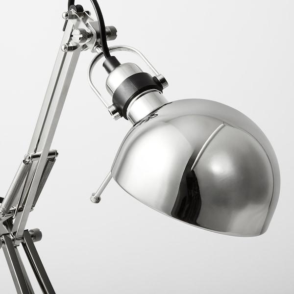 FORSÅ lampa biurkowa niklowano 40 Wat 35 cm 15 cm 12 cm 1.8 m
