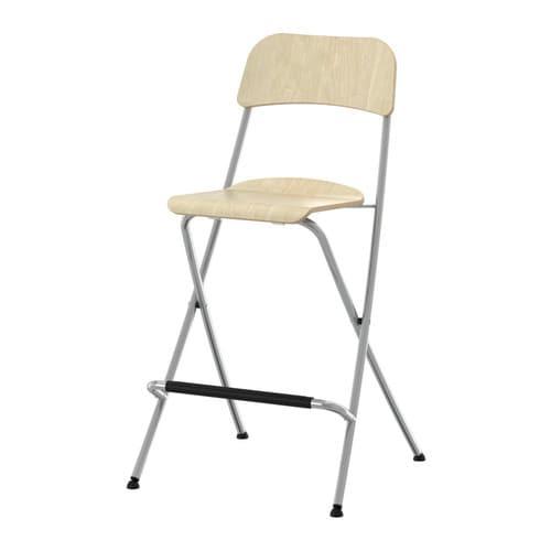IKEA FRANKLIN saliekamais krēsls ar atzveltni