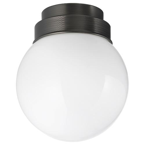 FRIHULT lampa sufitowa/ścienna czarny 5.3 Wat 19 cm 16 cm
