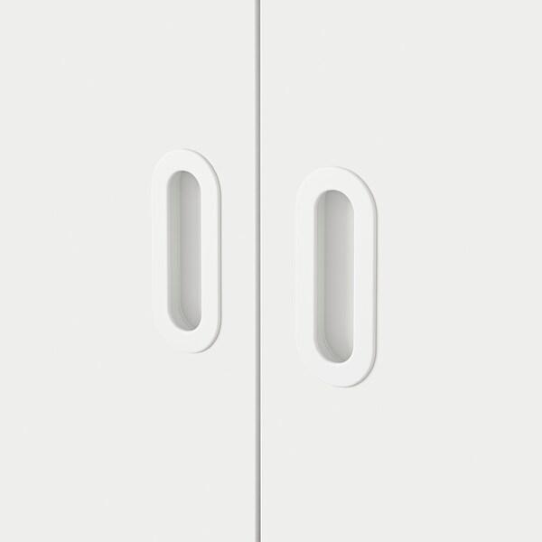 FRITIDS drzwi biały 60.0 cm 192 cm 2 szt.