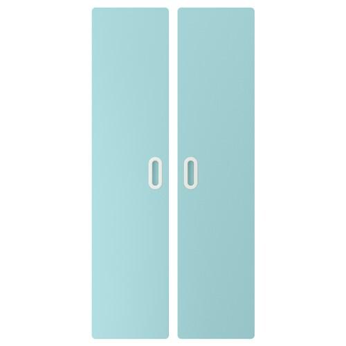 FRITIDS drzwi jasnoniebieski 60.0 cm 128 cm 2 szt.
