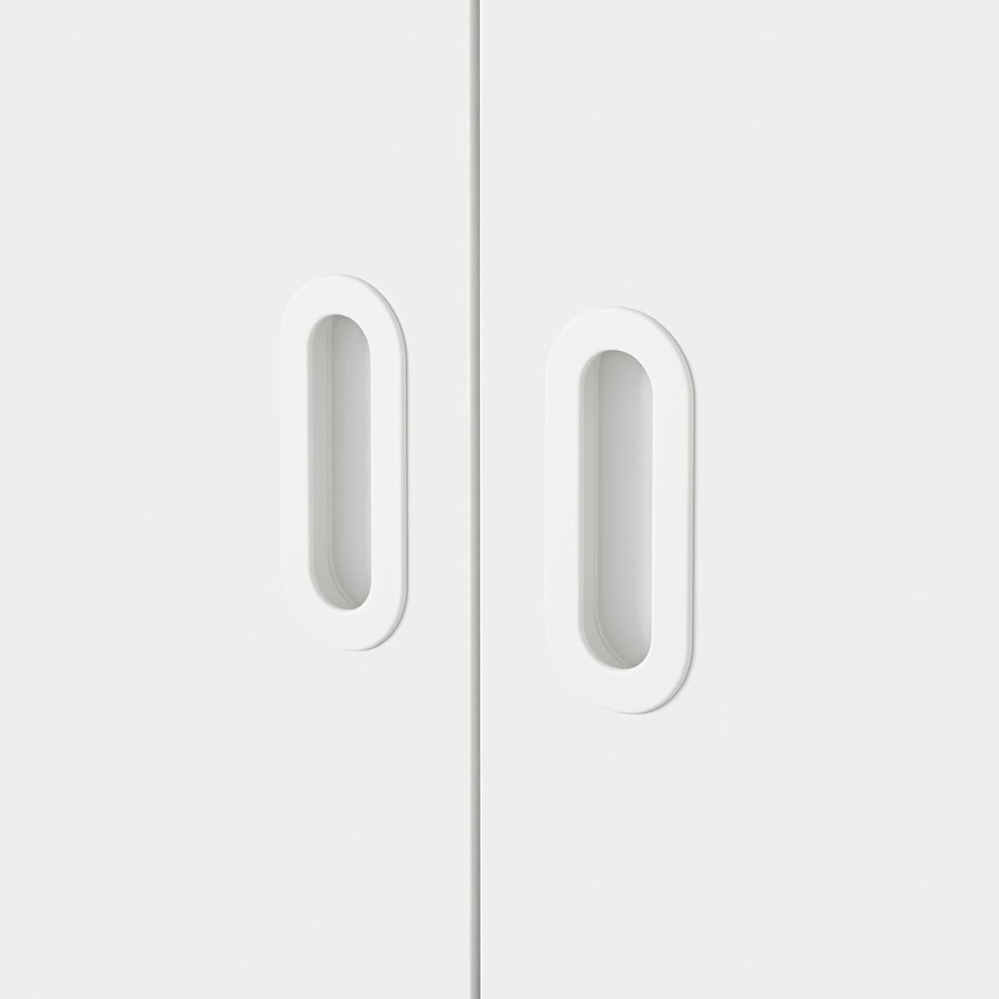 FRITIDS Drzwi, biały, 60x64 cm 2 szt.