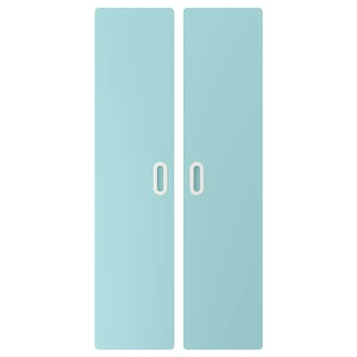 FRITIDS Drzwi, jasnoniebieski, 60x128 cm 2 szt.
