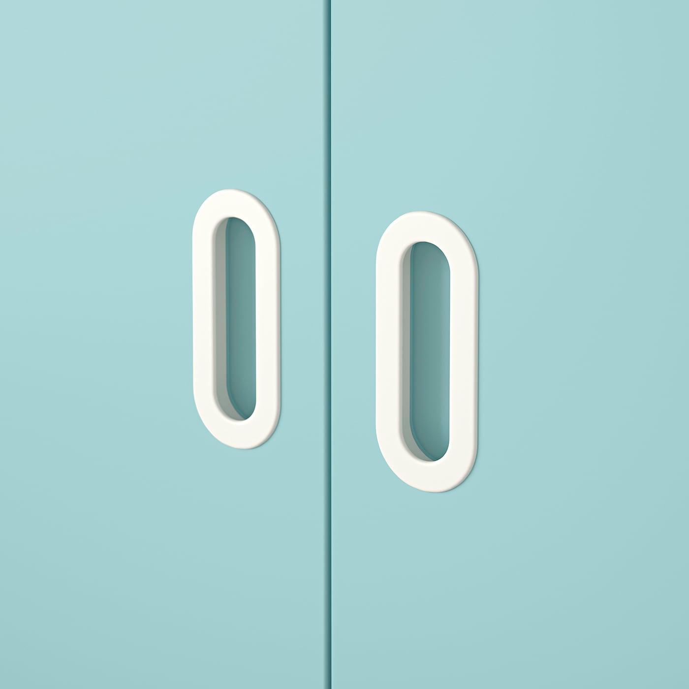 FRITIDS Drzwi, jasnoniebieski, 60x64 cm 2 szt.