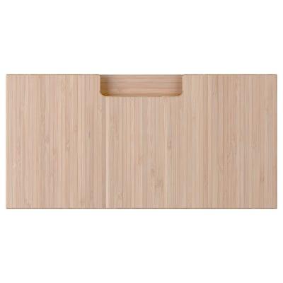 FRÖJERED Front szuflady, jasny bambus, 40x20 cm