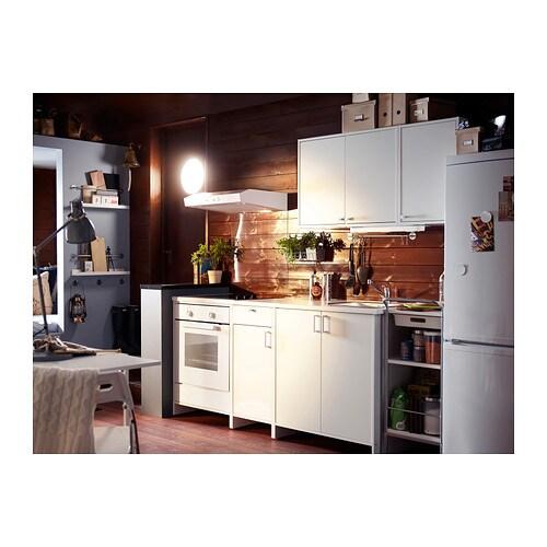 IKEA FYNDIG Szafka na piekarnik, biały, biały - 6039928722 ... | {Ikea küchenzeile fyndig 13}