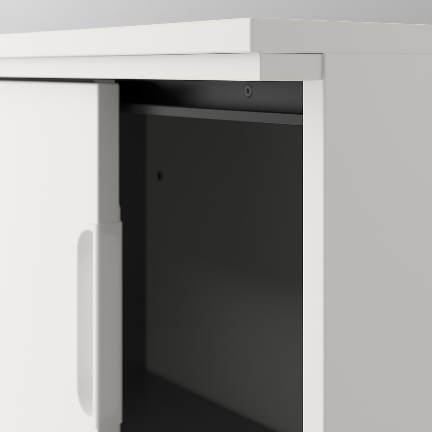 GALANT Nadstawka, okleina dębowa bejcowana na biało, 160x80