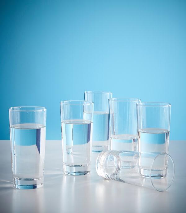 GODIS Szklanka, szkło bezbarwne, 40 cl