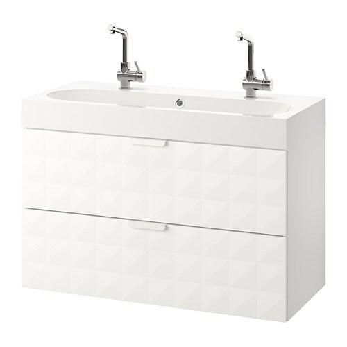 godmorgon br viken szafka pod umywalk z 2 szufladami resj n bia y ikea. Black Bedroom Furniture Sets. Home Design Ideas