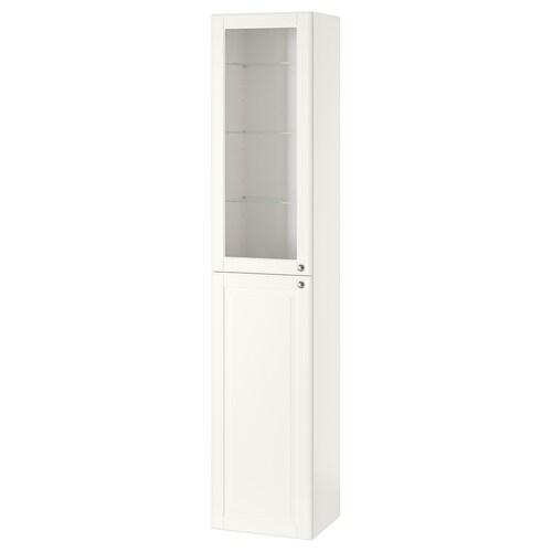 GODMORGON szafka wysoka Kasjön biały 40 cm 32 cm 192 cm