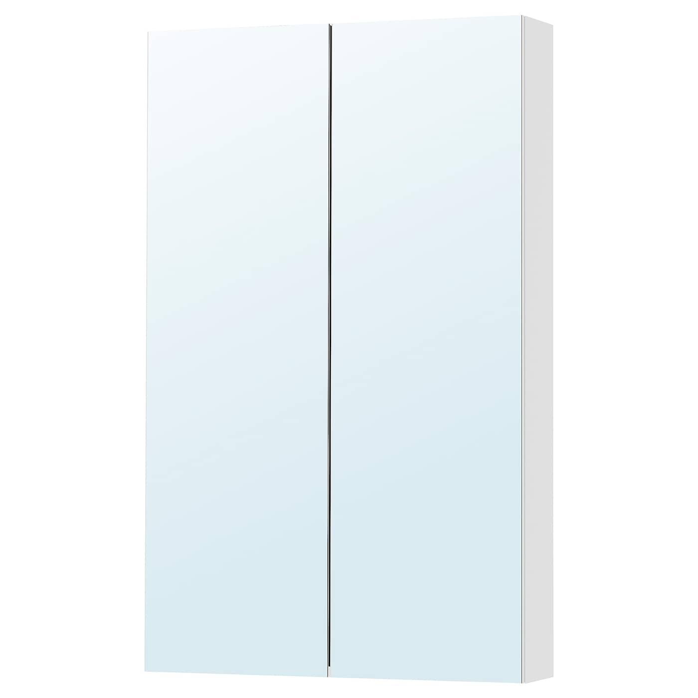 IKEA GODMORGON szafka z lustrem i parą drzwi, 60x14x96 cm