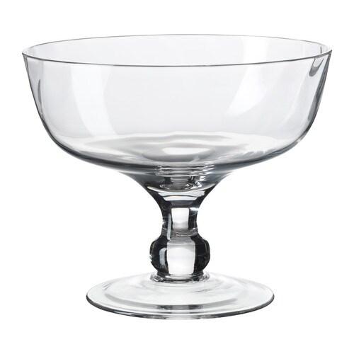 GOTTIS Miska , szkło bezbarwne Średnica: 18 cm Wysokość: 15 cm