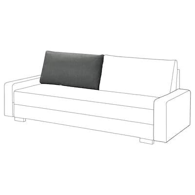 GRÄLVIKEN Poducha oparcia 3o sofa rozkładana, ciemnoszary/część zamienna