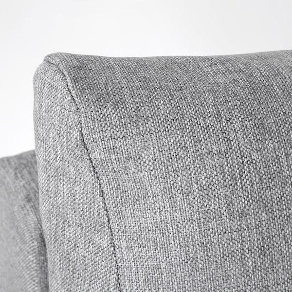 GRÄLVIKEN Rozkładana sofa 3-osobowa, szary