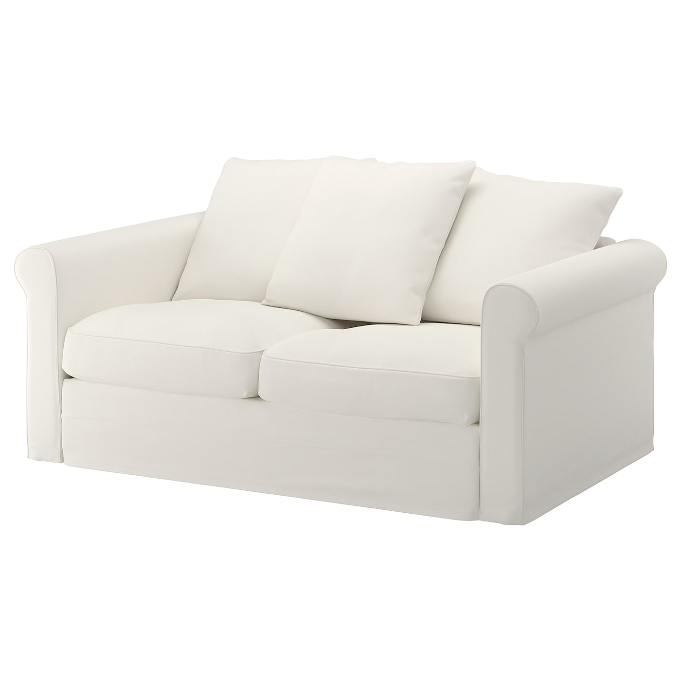 IKEA GRÖNLID biała sofa dwuosobowa