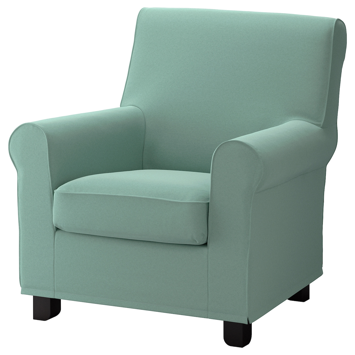 IKEA GRÖNLID Fotel, Ljungen jasnozielony