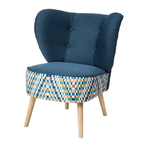 GUBBO Fotel IKEA Kształt fotela zapewnia wygodne wsparcie dla odcinka lędźwiowego.