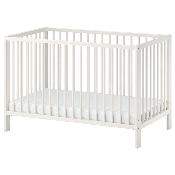 GULLIVER Łóżko dziecięce, biały, 60x120 cm