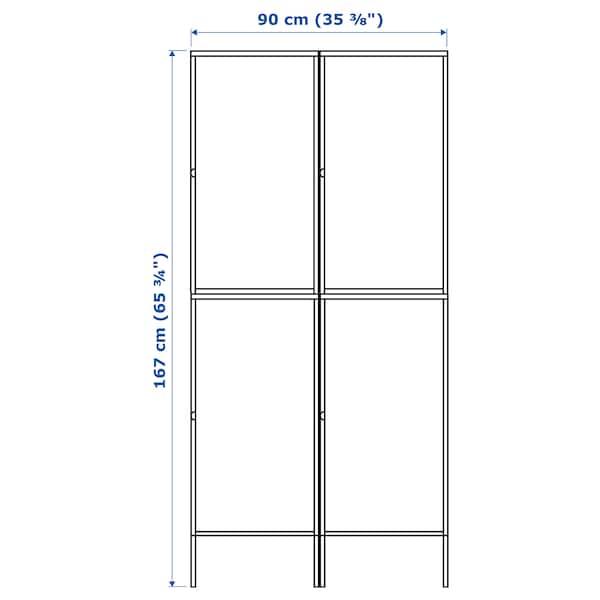 HÄLLAN kombinacja z drzwiami biały 90 cm 47 cm 167 cm