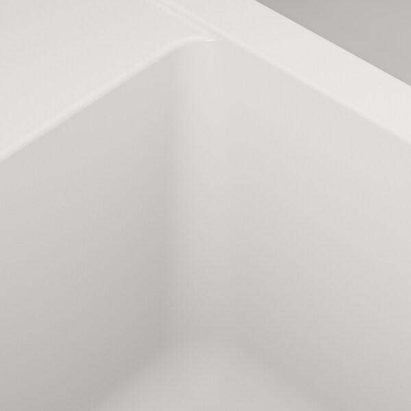 HÄLLVIKEN zlew wpuszczany, 1 komorowy biały/kompozyt kwarcowy 18 cm 50 cm 35 cm 48.6 cm 54.6 cm 50 cm 56 cm 50 cm 19.4 cm 31.5 l